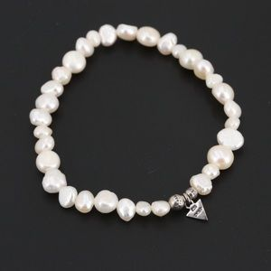 Set of 5 Silpada freshwater pearl bracelets
